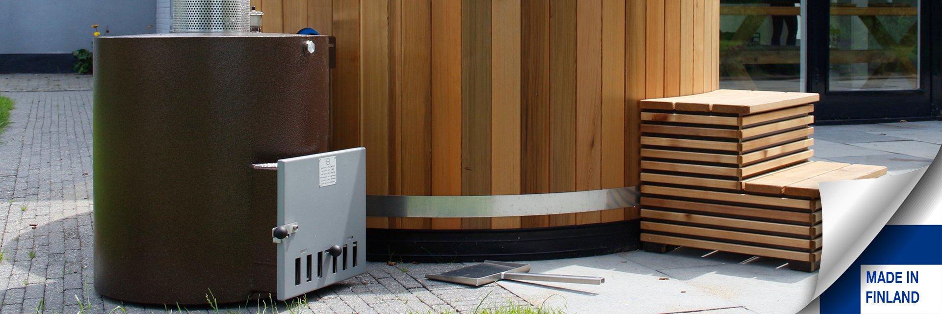 vasca da esterno stufe a legna