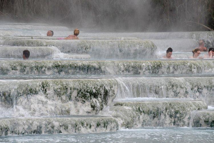 La storia del bagno caldo