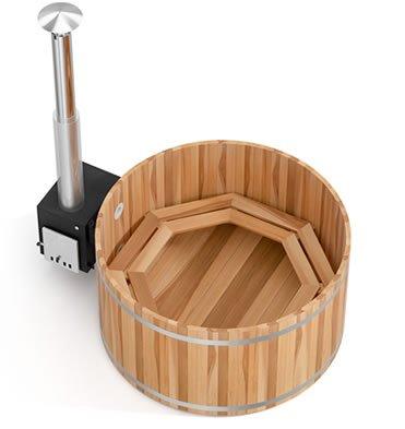 tinozza in legno Woody